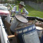 HHW Volunteer in Action!